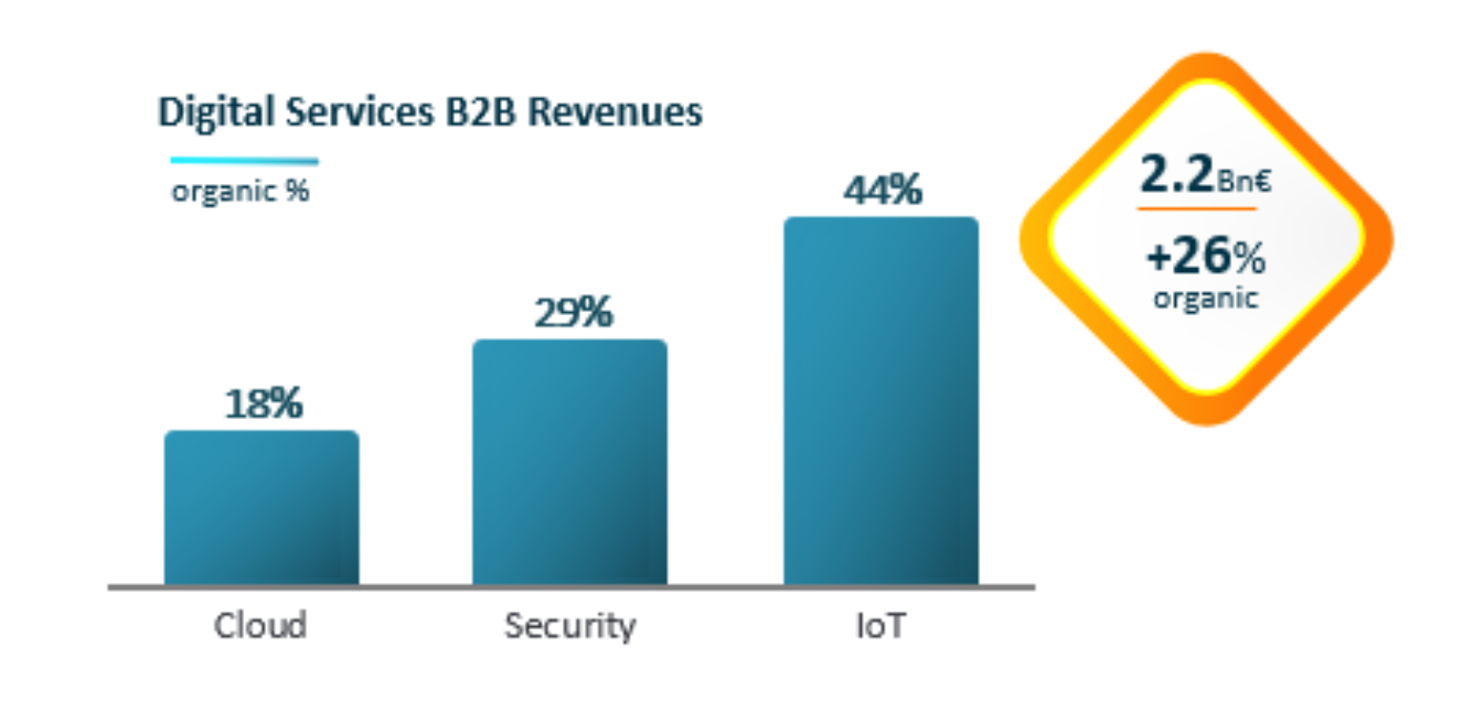 Digital Services B2B Revenues