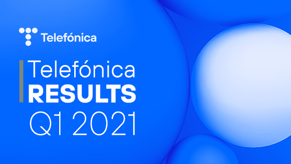 Telefónica's net income reaches €886 million, up 118% compared to the first quarter 2020