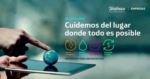 Telefónica lanza en España un sello...