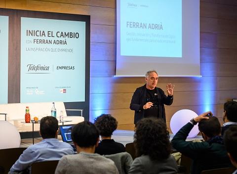Ferran Adrià y Telefónica Empresas ...