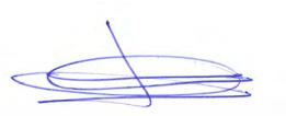 Signature of José María Álvarez-Pallete