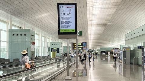 Aena y Telefónica digitalizan las medidas de protección cardiaca en los aeropuertos