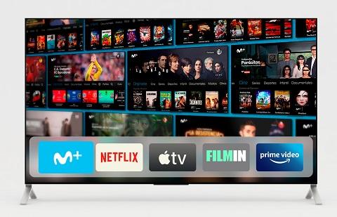 Movistar+, ya disponible en Apple TV