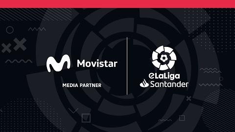 Movistar reafirma su acuerdo de media partnership con eLaLiga con contenidos exclusivos