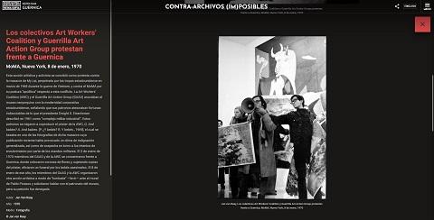 La Web Repensar Guernica se complet...
