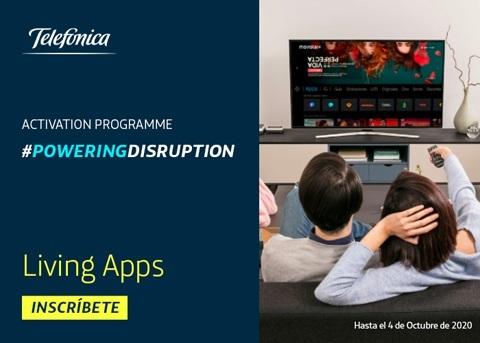 Telefónica invita a las startups a desarrollar su Living App para Movistar+