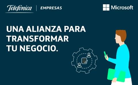 Telefónica Empresas y Microsoft une...