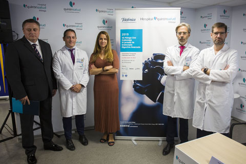 El Hospital Quirónsalud Málaga y Telefónica presentan el primer sistema de asistencia experta a operaciones basado en 5G con integración de datos médicos por realidad aumentada