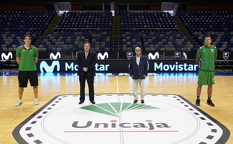 Movistar seguirá siendo patrocinador oficial del Unicaja