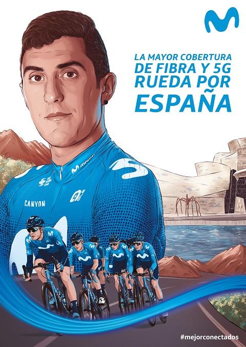 Movistar acompaña a la Vuelta con s...