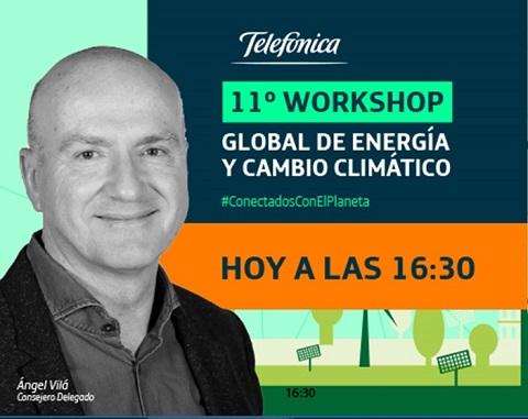"""Ángel Vilá: """"Telefónica es parte de la solución a la emergencia climática gracias a nuestras redes y servicios Eco Smart"""""""