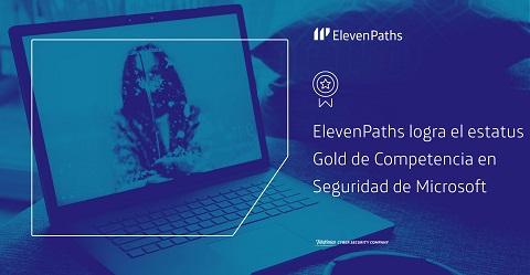 ElevenPaths logra el estatus Gold de Competencia en Seguridad de Microsoft