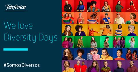 "Telefónica celebra ""Diversity Days""..."