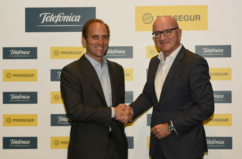 Prosegur and Telefónica close the deal for the joint management of the alarm business in Spain