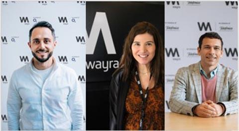 Tres emprendedores de éxito refuerzan la estrategia de Wayra en Europa