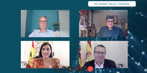 Telefónica presenta soluciones para la recuperación del sector turístico