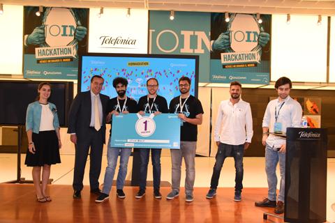 Telefónica celebra un Hackathon y p...