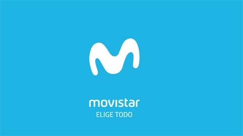Logo movistar (blue)
