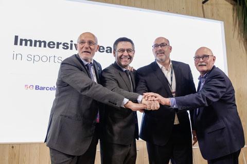 Telefónica y el FC Barcelona convie...