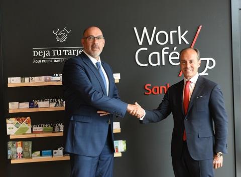 Santander y Telefónica se unen para...