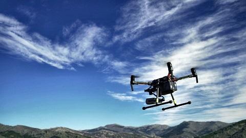 Telefónica realiza con éxito un piloto con drones basado en soluciones IoT para la detección temprana de incendios