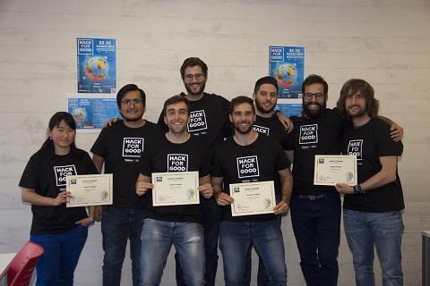 HackForGood 2019 ya tiene ganadores