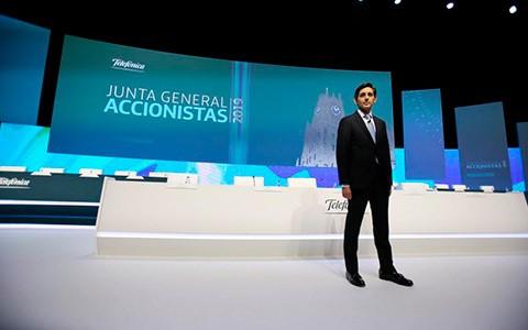 """José María Álvarez-Pallete: """"El futuro pasa por las redes de Telefónica"""""""