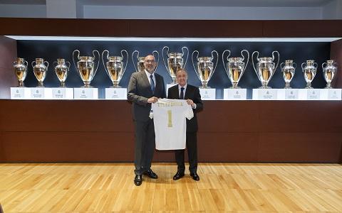 Telefónica se convierte en integrador tecnológico del Real Madrid