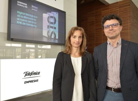 Samsung y Telefónica integran sus s...