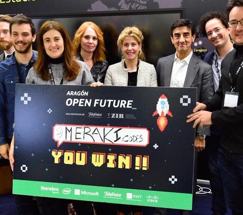 Telefónica y T-Zir premian la solución de Meraki como mejor iniciativa del programa 'Aceleradora para el retail Aragón Open Future''