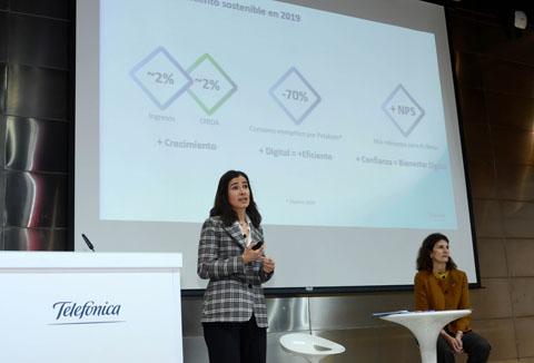 Telefónica vincula por primera vez el 20% del salario variable a objetivos de sostenibilidad