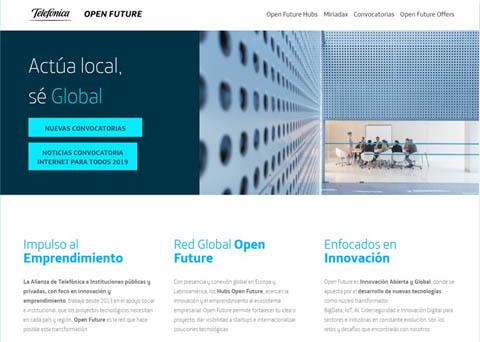 Telefónica Open Future busca empren...