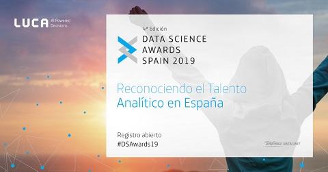 La cuarta edición de los Data Science Awards de Telefónica premiará soluciones de analítica en el deporte, la sanidad, detección de fake news y medioambiente