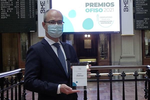 Telefónica, Premio OFISO por su tra...