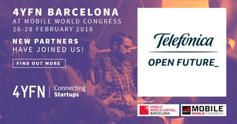 Telefónica mostrará en el 4YFN cómo la innovación interna  y las startups interactúan para crear nuevas soluciones tecnológicas
