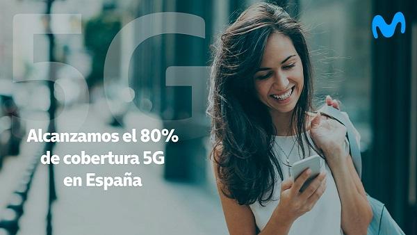 Telefónica alcanza el 80% de cobert...