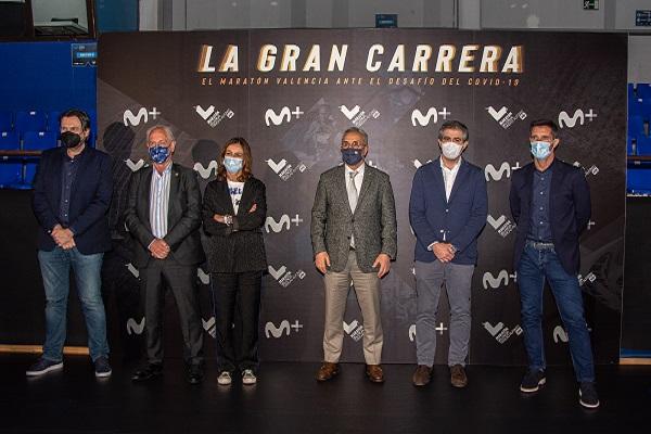 Maratón Valencia y Movistar estrenan el documental 'La Gran Carrera' sobre su edición más complicada