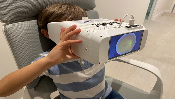 Telefónica impulsa el futuro del diagnóstico en oftalmología con 0cuexplorer 5G