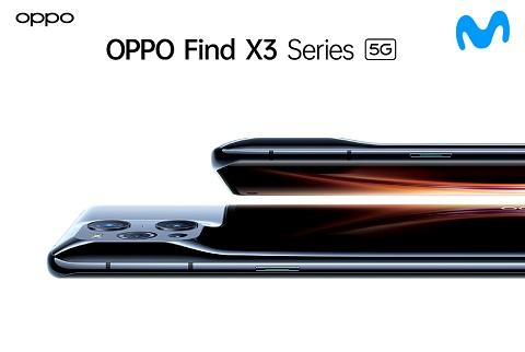 La nueva serie OPPO Find X3 con 5G,...