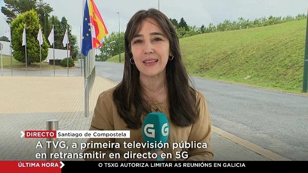 Televisión de Galicia, primera televisión pública que retransmite en directo mediante el 5G de Telefónica